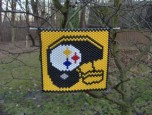 Steeler Beaded Banner